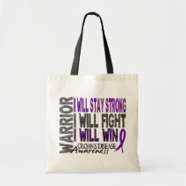 Crohn's Disease Warrior Tote Bag
