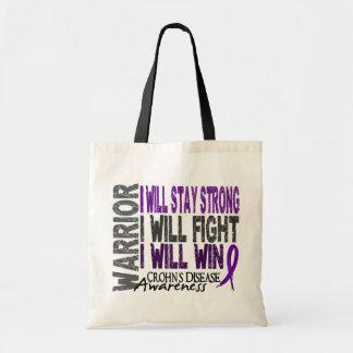 Crohn's Disease Warrior Tote Bag