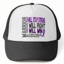 Crohn's Disease Warrior Trucker Hat