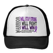 Crohn's Disease Warrior Trucker Hat