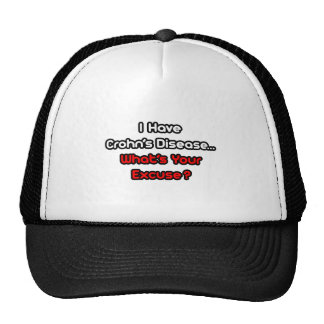 Crohn's Disease...What's Your Excuse? Mesh Hat