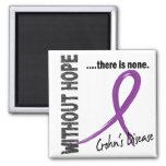 Crohns Disease Without Hope 1 Refrigerator Magnets