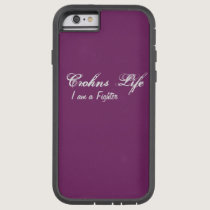 Crohns Life  Rugged Iphone case