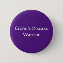 Crohn's Warrior button
