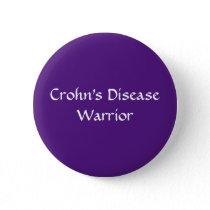 Crohn's Warrior button