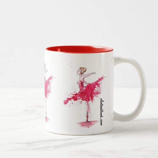 Croisé Devant. 1 Two-Tone Coffee Mug