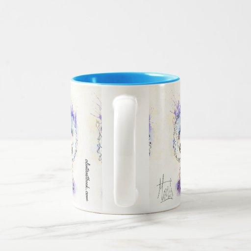 Croisé Devant. 4 Two-Tone Coffee Mug
