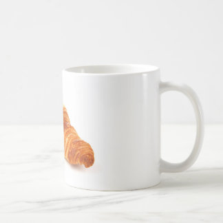 Croissant francés taza