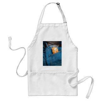 Croissant in your pocket adult apron