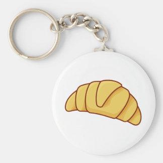Croissant Keychain