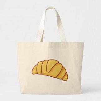 Croissant Large Tote Bag