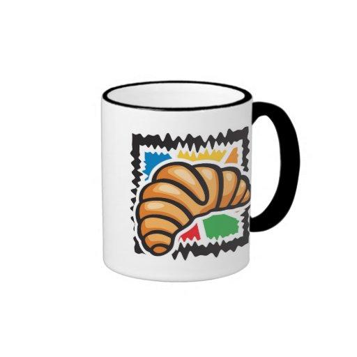 Croissants Coffee Mugs