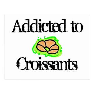 Croissants Postcard