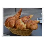 ¡Croissants! Tarjetón