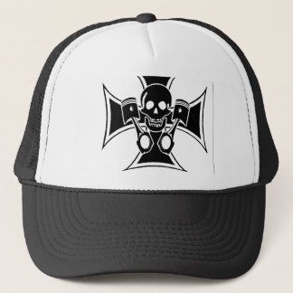 "croix 2 malte hate ""malt cross hate"" trucker hat"