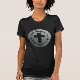 Croix dans cercle Métal Shirts