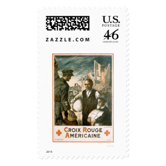 Croix Rouge Américain American Red Cross Postage Stamps