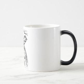 Croix sous le ciel magic mug