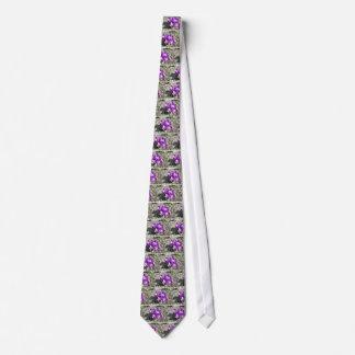 Crokus Vern Flower Neck Ties
