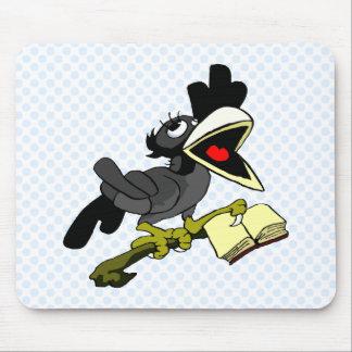 Crolinda Crow Mouse Pad