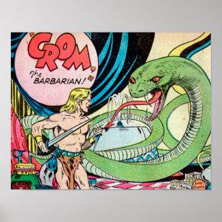 Crom the Barbarian Art Print #1