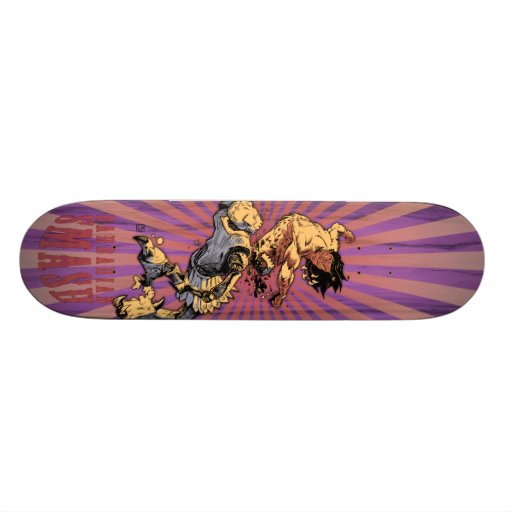 Crom the Gnarbarian Skate Deck