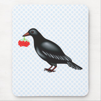 Croman Crow Mouse Pad