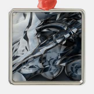 Crome azul ornamento para reyes magos