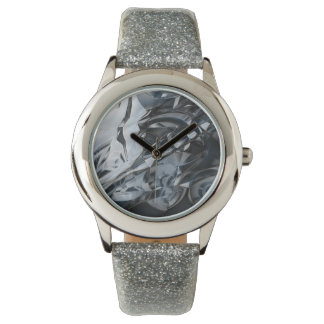 Crome azul reloj de mano