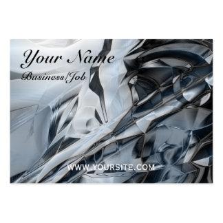 Crome azul tarjetas de negocios