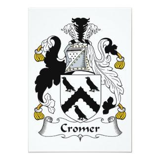 Cromer Family Crest Invite