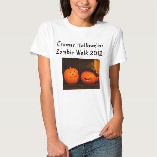 Cromer Hallowe'en Zombie Walk 2012 T Shirt