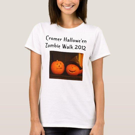 Cromer Hallowe'en Zombie Walk 2012 T-Shirt