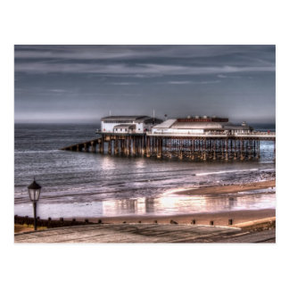 Cromer Pier and reflection Postcards