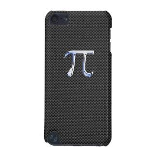 Cromo como símbolo del pi en la impresión negra de funda para iPod touch 5G