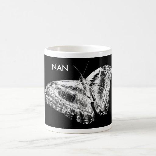 cromo de la mariposa, NAN Taza