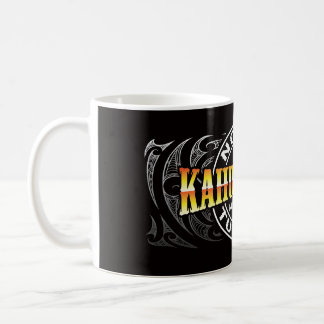 Cromo de Moko del Lifer de Ngati Kahungunu Taza De Café