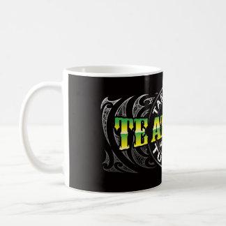 Cromo de Moko del Lifer de Te Ataiawa Taza De Café