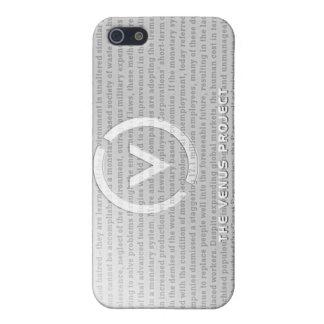 Cromo de TVP iPhone 5 Funda