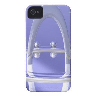 Cromo del arco iPhone 4 Case-Mate cárcasa