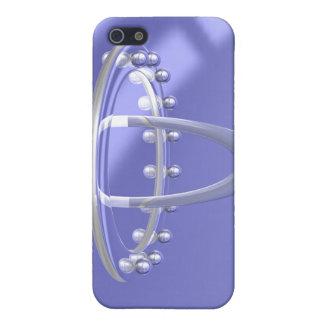 Cromo del arco iPhone 5 fundas