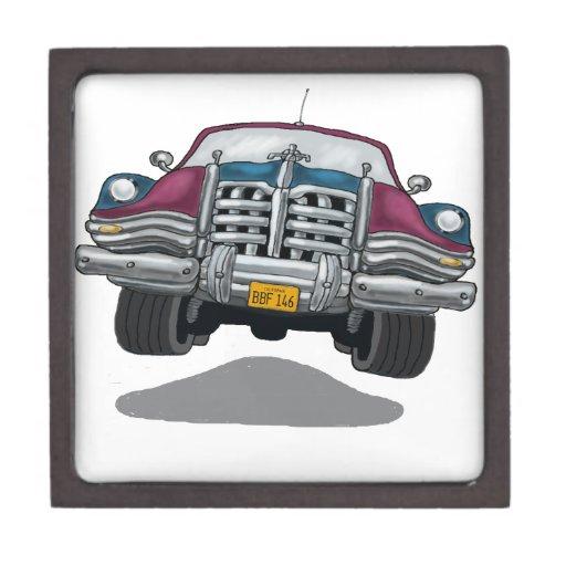 Cromo del coche cajas de regalo de calidad