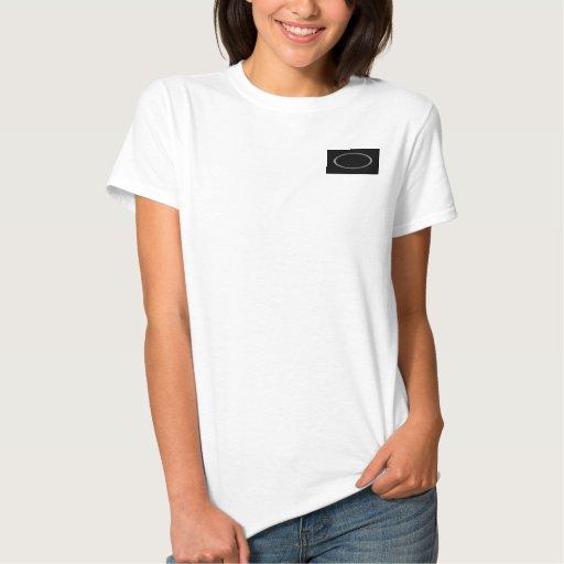 Cromo en negro camisetas