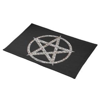 Cromo martillado Pentagram Manteles