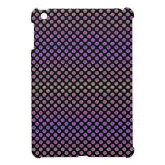 Cromo multicolor de los puntos iPad mini cárcasas