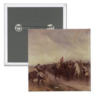 Cromwell at Dunbar, 1650 Pinback Buttons