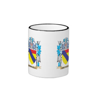 Cromwell Coat of Arms - Family Crest Ringer Coffee Mug