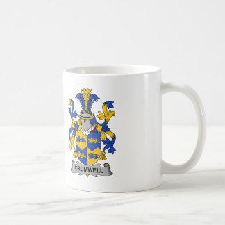 Cromwell Family Crest Classic White Coffee Mug