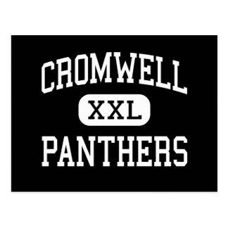 Cromwell - panteras - alto - Cromwell Connecticut Tarjetas Postales