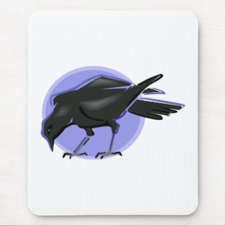 Crondell Crow Mouse Pad